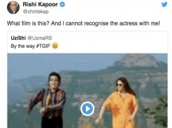 Rishi Kapoor Can T Recognise Sridevi Twitter Trolls Him Badly