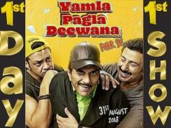 Yamla Pagla Deewana Phir Se First Day Firsr Show Review Audience Response