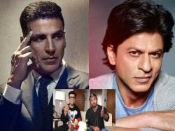 Shahrukh Khan Akshay Kumar Ranbir Kapoor Karan Johar Takes Up Sui Dhaaga Challenge