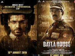 John Abraham Release Two Posters Upcoming Film Batla House