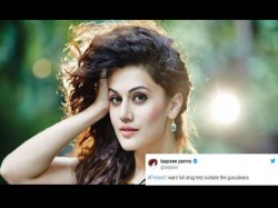 Manmarziyaan Controversy Taapsee Pannu Demands Drug Test Outside Gurudwaras