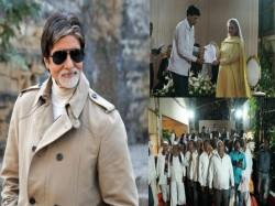 Amitabh Bachchan Jaya Bachchan Meet Donate Army Martyrs Farmers Families