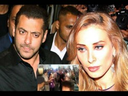 Salman Khan Gets Mobbed Fans At Jaipur Airport Along With Rumored Girlfriend Iulia Vantur