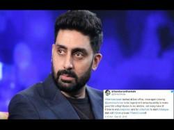 Manmarziyaan Abhishek Bachchan Has The Epic Response A Twitter User Asking Him Sell Vada Pav