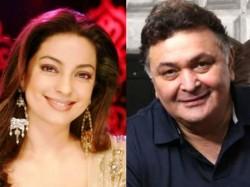 Rishi Kapoor Juhi Chawla Coming Back Again Silver Screen