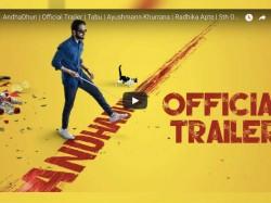 Andhadhun Trailer Ayushmann Khurrana Tabu Radhika Apte S Thriller