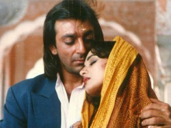 Sanjay Dutt Madhuri Dixit Finally Shot Scene Together After 21 Years