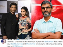 Nitesh Tiwari Kickstarts Shooting Chhichhore With Sushant Singh Rajput Shraddha Kapoor