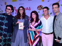 Twinkle Khanna S Third Book Pyjamas Are Forgiving Launched Suggests To Ban Her Films
