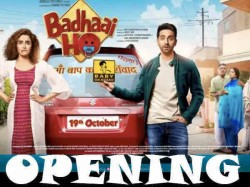 Badhaai Ho Box Office Opening Day 1 Occupancy Report