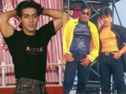 Salman Khan Ajay Devgn Bollywood Superstars 10 Rare Nostalgic Pictures