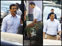 John Abraham Shoots For Batla House Here Is The First Look From The Sets