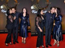 Kuch Kuch Hota Hai 20 Years Celebration Shahrukh Kajol Rani Bollywood Stars Party
