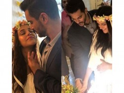 See The Beautiful Pics From Neha Dhupia Baby Shower
