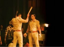 Ajay Devgn Latest Pic From The Sets Simmba Starring Ranveer Singh