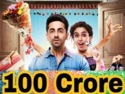 Ayushmann Khurrana Makes A Grand Debut 100 Crore Club