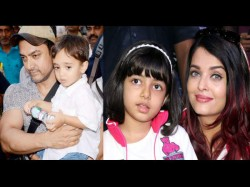 Aishwarya Daughter Aaradhya Aamir Son Azad As Ram Sita At Ambani School Play