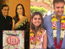 Isha Ambani Anand Piramal S Wedding Invitation Card Is Worth Whopping 3 Lakh Each