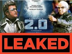 Rajnikanth Akshay Kumar 2 Point 0 Full Movie In Hd Print Leaked On Tamilrockers