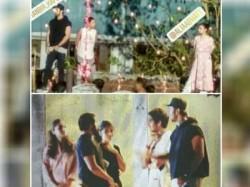 New Pics Leak From Alia Bhatt Ranbir Kapoor S Brahmastra Sets