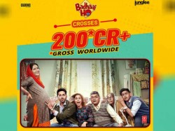 Badhaai Ho Hits 200 Crore At The Worldwide Box Office