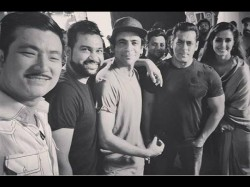 A New Pic From The Set Of Bharat Starring Salman Khan Disha Patani
