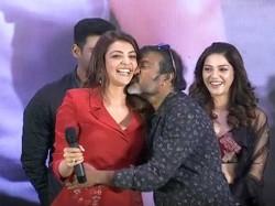 Kajal Agarwal Shockingly Kissed His Co Star Video Went Viral