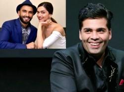 Karan Johar Cofirms Ranveer Singh Deepika Padukone Wedding