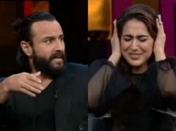 Saif Ali Khan Talk About Sara Ali Khan Koffee With Karan 6 Video