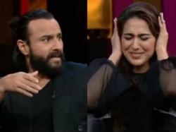 Koffee With Karan Season 6 Episode 5 Sara Ali Khan Saif Ali Khan