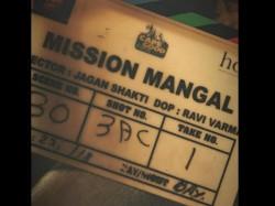 Akshay Kumar Mission Mangal Shooting Starts See Pic