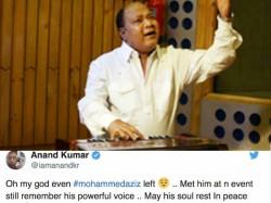 Veteran Singer Mohd Aziz Passes Away Bollywood Celebs Mourn The Loss