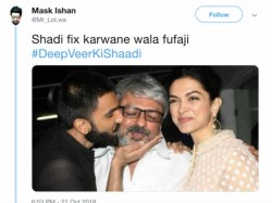 Hilarious Twitter Thread Mr Lolwa Reveals The Guests Deepika Padukone Ranveer Singh Wedding