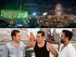 Salman Khan S Bharat Circus Set Is Huge This Picture Is A Proof