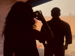 Salman Khan Katrina Kaif Picture From Bharat Sets Going Viral