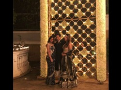 Shahrukh Khan And Gauri Khan Hosts A Diwali Party See Pictures