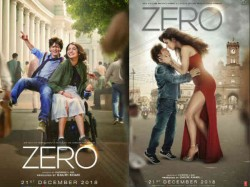 Fans Reaction On Shahrukh Khan Zero Posters On Twitter