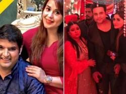 Kapil Sharma Ginni Chatrath Wedding Sangeet Night Inside Pic Video