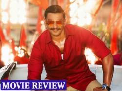 Simmba Movie Review And Rating Ranveer Singh Sara Ali Khan