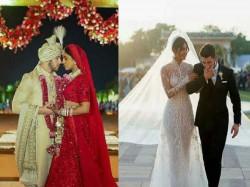 Priyanka Nick First Pic Priyanka Chopra Nick Jonas First Pic As Bride Groom Gone Viral