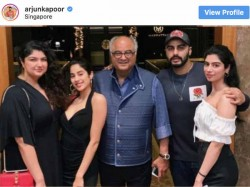 Arjun Kapoor Shares Family Pictures With Khushi Jhanvi Boney And Anshula Kapoor