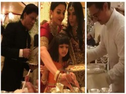 Isha Ambani Wedding Aamir Shahrukh Amitabh Bachchan Served Food To Guest