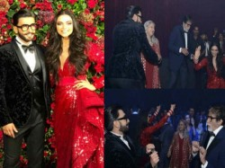 Ranveer Deepika Reception Bachchan Family Dance With Ranveer And Deepika