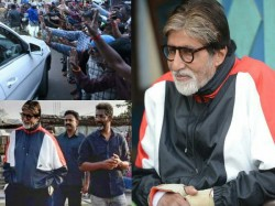 Amitabh Bachcan Reached Nagpur Jhund Shooting