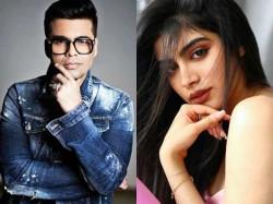 Karan Johar Announced Khushi Kapoor And Javed Jaffrey Son Debut
