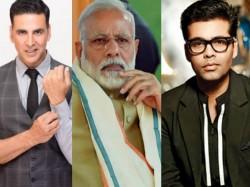 Pm Modi Met Akshay Kumar Karan Johar Discuss Film Industry Issues