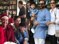 Randhir Kapoor Become Santa Taimur Inside Pictures Christmas Gone Viral