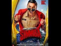 Ranveer Singh As Cop Sangram Bhalerao Simmba New Poster