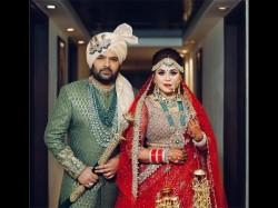 Kapil Sharma Ginni Wedding First Pic Bride Ginni With Groom Kapil
