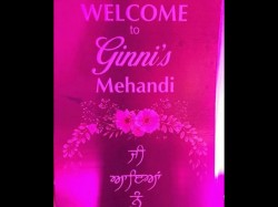 Kapil Sharma Ginni Wedding Live Fans Mehendi Pic Viral